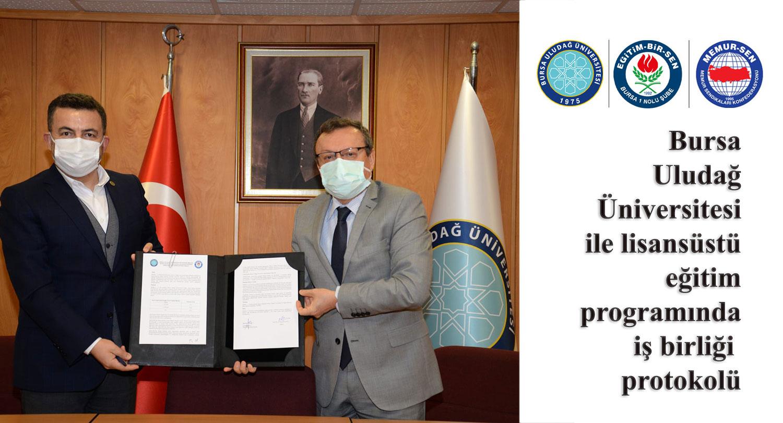 EBS Bursa Şubesi ile Bursa Uludağ Üniversitesi Yüksek Lisans iş birliği