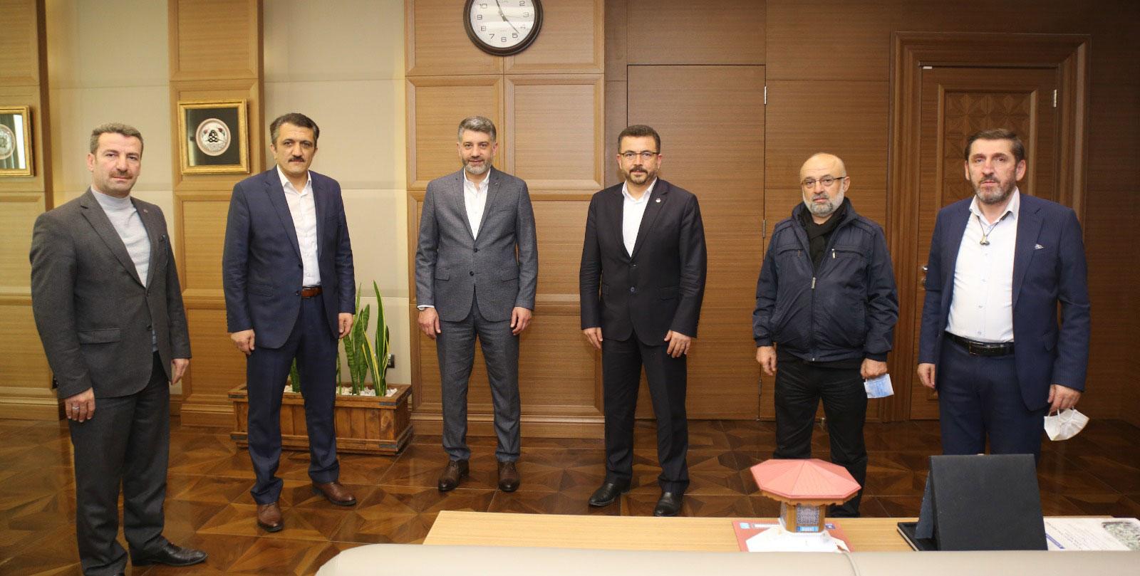 EBS Bursa 1 Nolu Şubeden BBB Genel Sekreteri Ulaş Akhana ziyaret